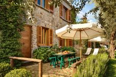 garden patio corallo apartment, casale la torre, holiday apartments near sorrento, massa lubrense, italy