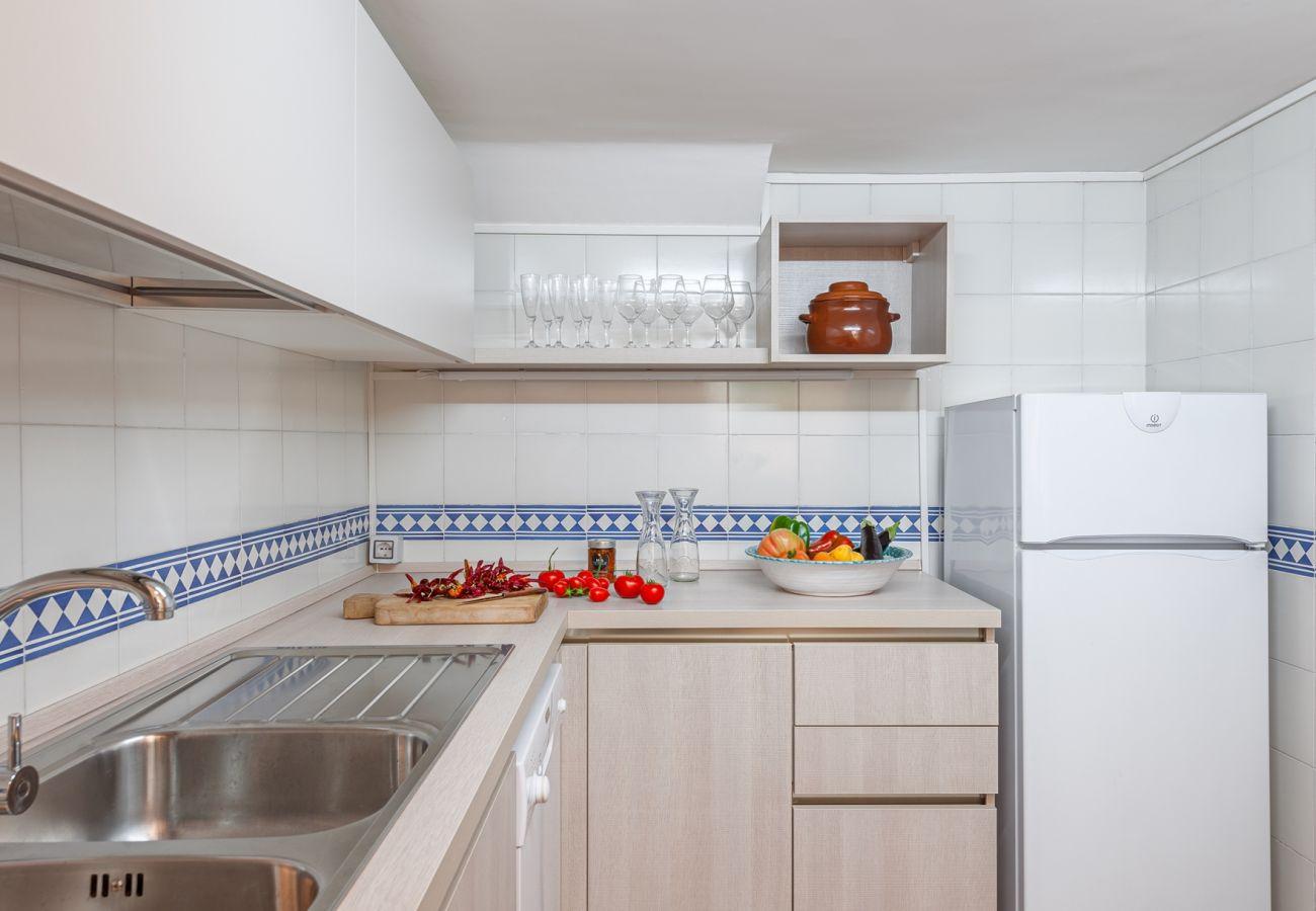 kitchen, villa alfonsina, massa lubrense, italy