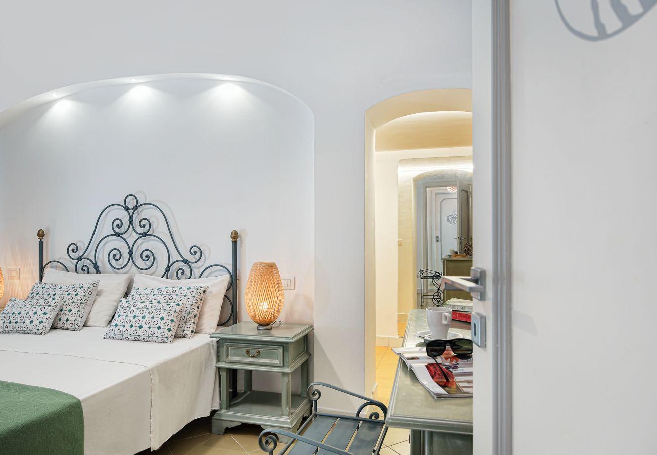 double bedroom, vacation villa marinella, nerano, massa lubrense, italy