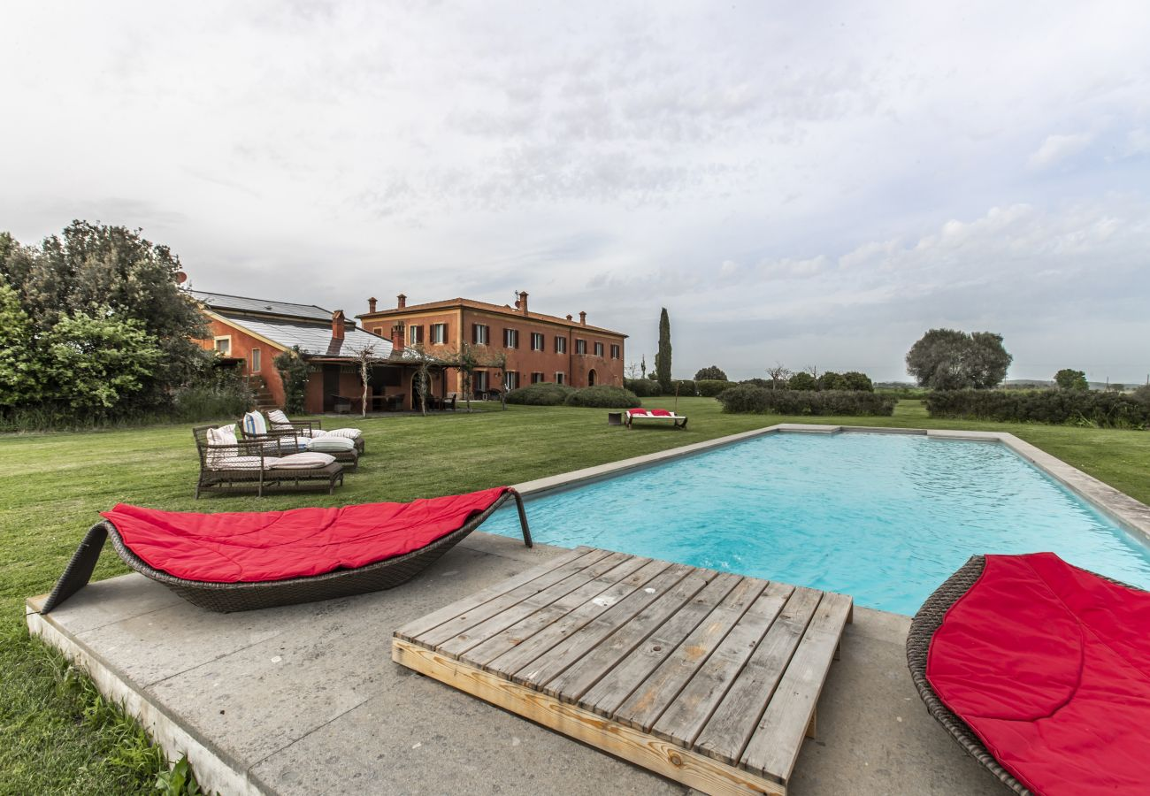 Villa in Albinia - Tuscany Argentario Garden Villa R&R