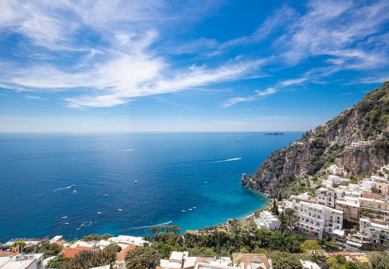 view of positano from casa marina, holiday home, sleeps 6