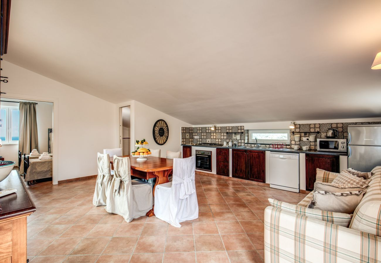 dining area and kitchenette on the second floor