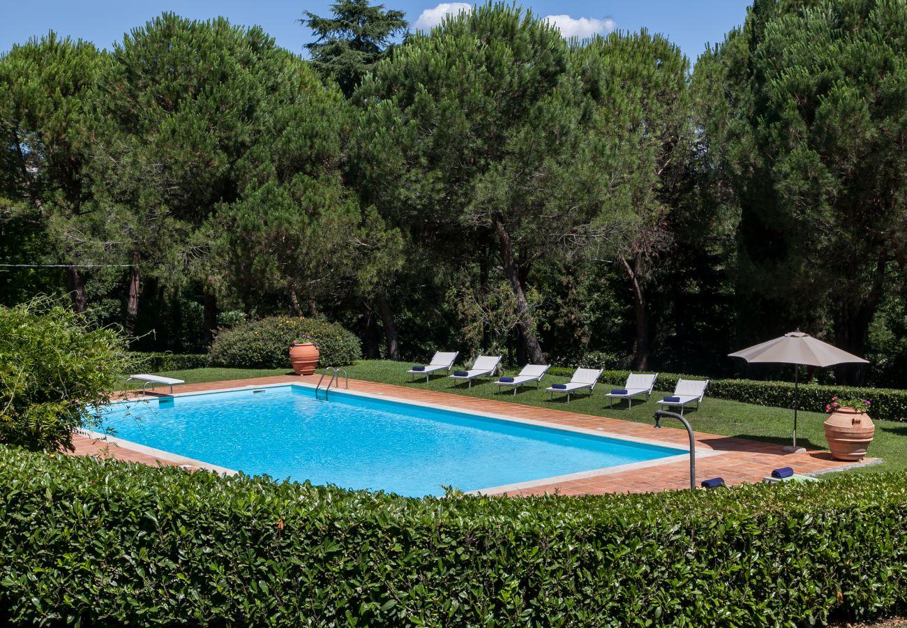 Villa in Lucignano - Villa Poggio agli Ulivi